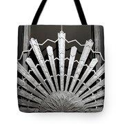 Sunrays Sunburst Art Feature Tote Bag