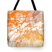 Sunrise 2- Abstract Art By Linda Woods Tote Bag