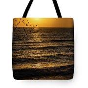 Sunrise Birds Nc Tote Bag