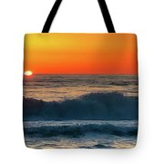 Sunrise First Day Tote Bag