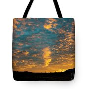 Sunrise In Beaumont,ca Tote Bag