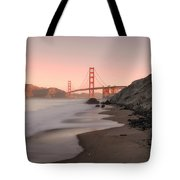 Sunrise In San Fransisco- Tote Bag by JD Mims