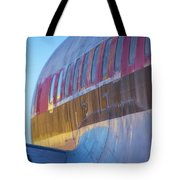 Sunrise On An Old Airplane Tote Bag