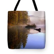 Sunrise On Nick's Lake Tote Bag