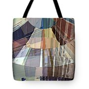 Sunrise On The Hill Tote Bag by David Manlove