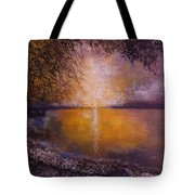 Sunrise On The Sea Tote Bag