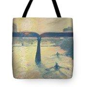 Sunrise Rowers On Lady Bird Lake Austin Tote Bag