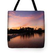 Sunset At Angkor Wat Tote Bag