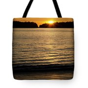 Sunset Beach Vancouver Island 2 Tote Bag