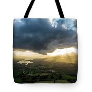 Sunset Between The Bay Tote Bag