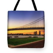 Sunset By The Ben Tote Bag