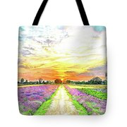 Sunset - Colors Of Nature Tote Bag