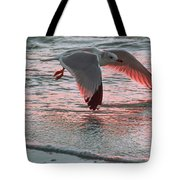 Sunset Glide Tote Bag