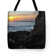 Sunset In Gale Beach. Coast Of Algarve 2 Tote Bag