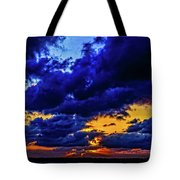 Sunset In St. Petersburg Tote Bag by Louis Dallara