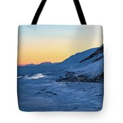Sunset In The Arctic Tote Bag