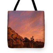 Sunset, Joshua Tree National Park Tote Bag