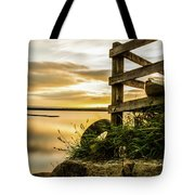 Sunset Over Reva Tote Bag