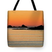 Sunset Over Sunset Bay, Oregon 5 Tote Bag by Dawn Richards