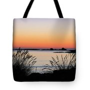 Sunset Over Sunset Bay, Oregon 6 Tote Bag by Dawn Richards