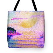 Sunset Over The Sea - Digital Remastered Edition Tote Bag