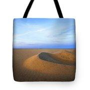 Sunset  Sand Dunes Tote Bag