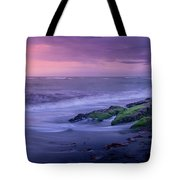 Sunset Surf On The Gulf Of Mexico, Venice, Florida Tote Bag