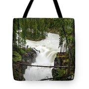 Sunwapta Falls Tote Bag