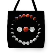 Super Blood Wolf Moon Eclipse Tote Bag