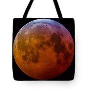 Super Wolf Blood Moon Lunar Eclipse Of 2019 Tote Bag