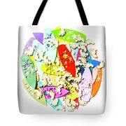 Surf Globe Trotters  Tote Bag