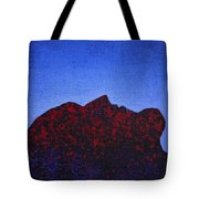 Surfacing Original Painting Tote Bag