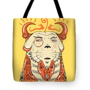 Surreal Cat Tote Bag