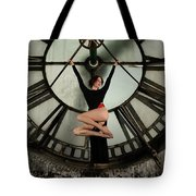 Suspended Time Tote Bag by Dennis Dame