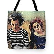 Sweeney Todd And Mrs. Lovett Tote Bag