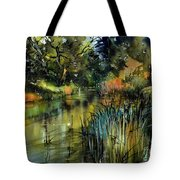 Sweet Flag In The Lake Tote Bag