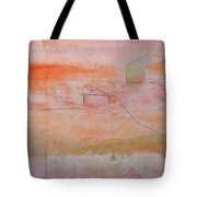 Sweet Suburbs Tote Bag by Kim Nelson