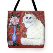 Sweetheart Cat Tote Bag