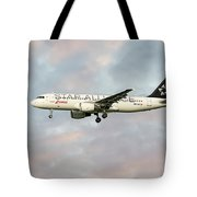 Swiss Star Alliance Livery Airbus A320-214 Tote Bag