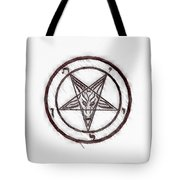 Symbol Of The Occult Tote Bag
