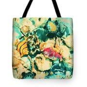 Synthetic Seas Tote Bag