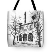T C Powers Mansion Helena Montana Tote Bag