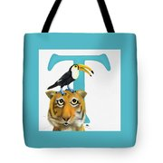 T Is For Two Tote Bag