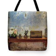 Table Of History Tote Bag