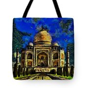 Taj Mahal Tote Bag by Harry Warrick