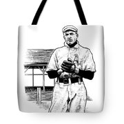Take Me Out To The Ballgame Tote Bag by Clint Hansen