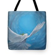 Take The Space Between Us Tote Bag by Kevin Daly