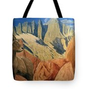 Taking In The Morning Tote Bag by Kevin Daly