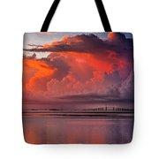 Tampa Bay Storm Tote Bag