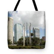 Tampa Skyline, 2007 Tote Bag